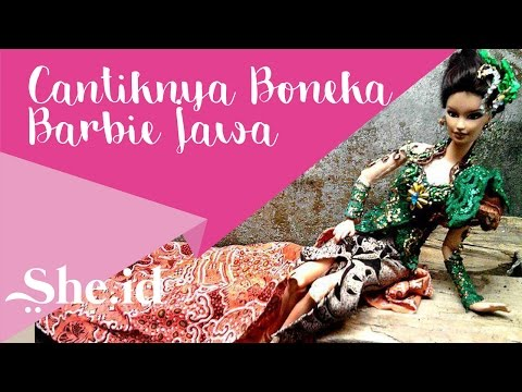 Cantiknya Boneka Barbie Jawa