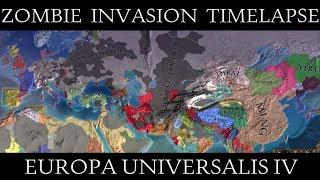 EU4: Cold War Conflict Always War Mod Timelapse | GulluTube