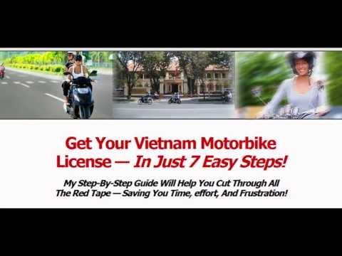 Vietnam Motorbike License