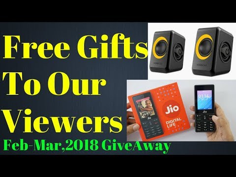 Bumper Giveaway From DPV TECHNOLOGY for February and March,2018