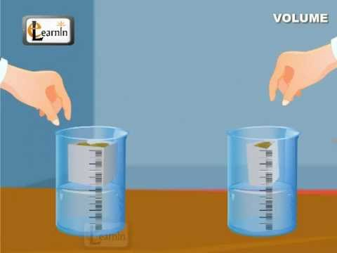 Measuring The Volume Of Different Objects | Water Dispalcement | Maths | Elearnin
