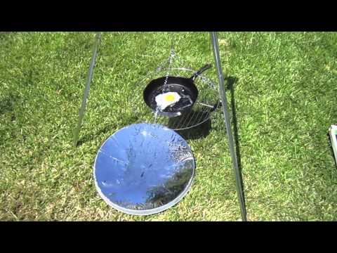 Parabolic Solar Cooking DIY