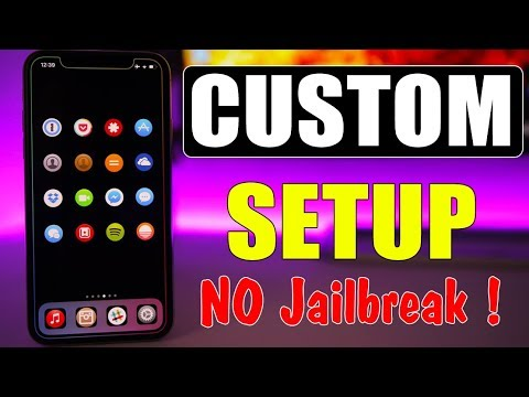 CUSTOM iPhone Setup * NO Jailbreak * iOS 11.3 & 11.4 !