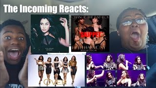 The Incoming Reacts To Fifth Harmony Songs And A Camren Moment