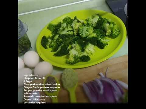Broccoli Egg Fry - Indian Broccoli recipe-In Simple way