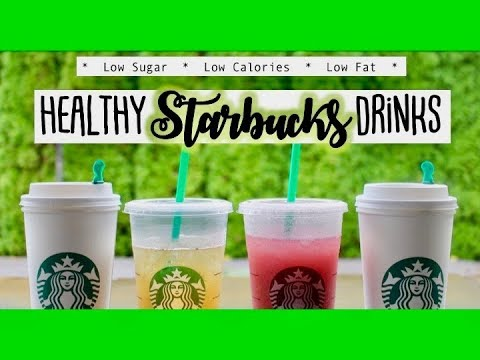 HEALTHY STARBUCKS DRINKS (Under 70 CALORIES) :: What I order at Starbucks
