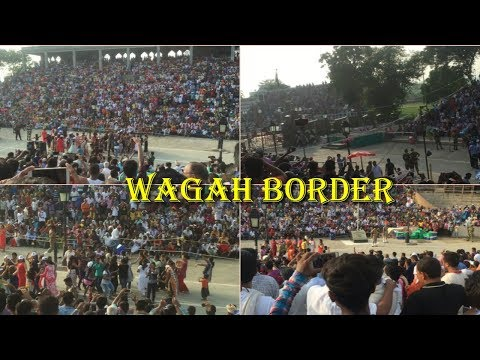 india pakistan wagah border amrtsar