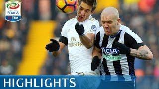 Udinese - Milan - 2-1 - Highlights - Giornata 22 - Serie A TIM 2016/17