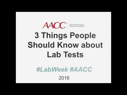 3 things you should know about lab tests