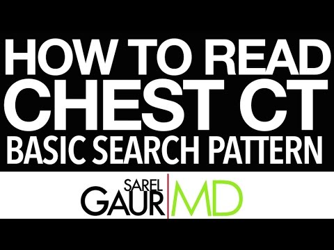 How To Read a Chest CT:  Basic Search Pattern