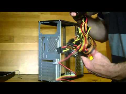 How to replace a power supply in a desktop PC