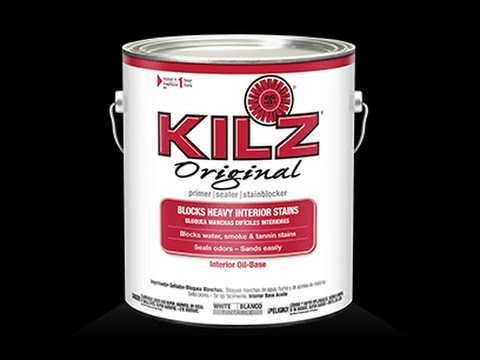 DIY Fire or Smoke damage with Killz