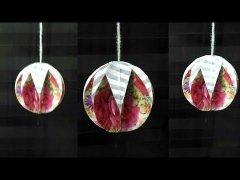 Festival Decoration   3D Christmas  Paper Ornament/Baubles-3   3D Paper New Year Decoration