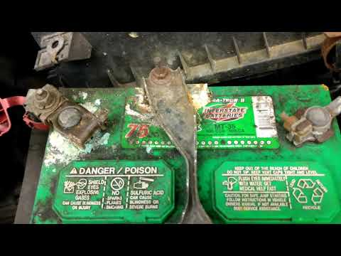 Battery corrosion needs to be cleaned 2003 Toyota Corolla