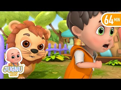 Sher Nirala Himmat Wala Rhyme - Hindi Nursery Rhymes for children and baby songs by jugnu kids
