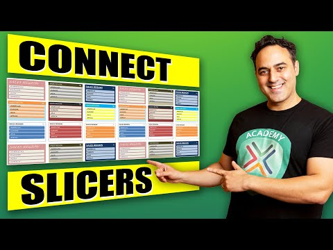Connect Slicers to Multiple Excel Pivot Tables Using Excel 2010, 2013 or 2016