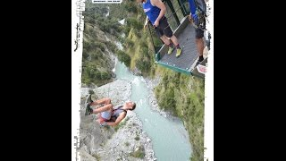 Shotover Canyon Swing - 109m Gainer - Queenstown, New Zealand