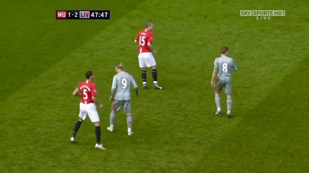 When Gerrard & Torres Made Old Trafford Their Playground   Gerrard & Torres vs Man Utd (A) 2008/2009
