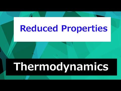 Reduced Temperature and Pressure // Thermodynamics - Class 50