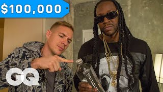 2 Chainz & Diplo Try $100K Bottled Water | Most Expensivest Shit | GQ