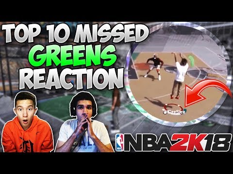 99 OVERALL MISSED GREEN LIGHT AND DELETES MYPLAYER!! Top 10 Missed Greens Reaction! | PeterMc