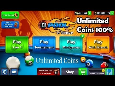 8 Ball Pool Unlimited Coins Real Working
