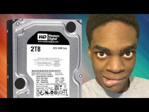 How to: Install a 2TB Hard Drive HDD I Building my Gaming PC