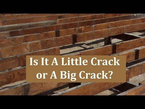 How To Repair Cracked Floor Joist – Building Repairs