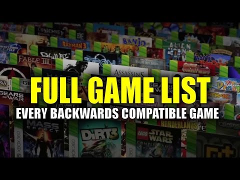 Every Backwards Compatible Xbox 360 Game Playable On Xbox One