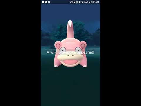 Pokemon GO Slowpoke Nest (Willow Lane Athletic Complex, Boise ID) Migration 4-6--17 to 4-20-17