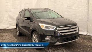 Download 2019 Ford ESCAPE Sport Utility Titanium Carthage Watertown Gouverneur Syracuse Utica Video