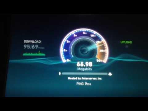 Fios speed test