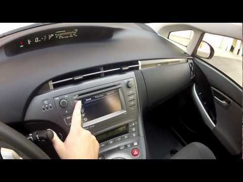 2012 HOV sticker equiped Prius Plug-in Bluetooth System follow up