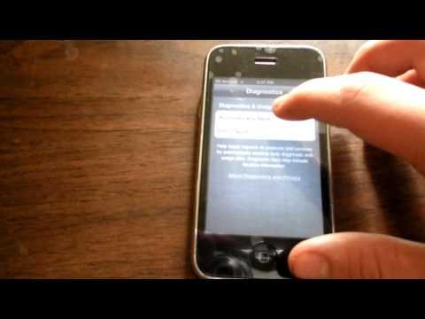 iPhone 3GS 5.1.1 Setup