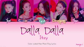 Download ITZY (있지) - DALLA DALLA (달라달라) | Color Coded Lyrics (Han/Rom/Eng) | By Meonjin Video
