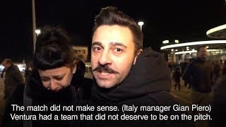 Italy Fans Distraught After Team Fails To Qualify For World Cup