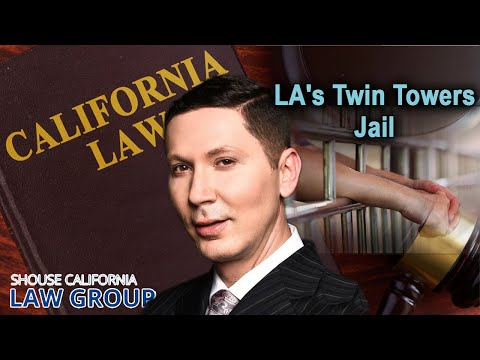 Twin Towers Correctional Facility Jail in Los Angeles