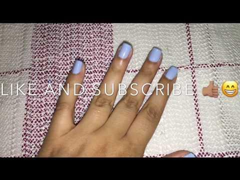 How I take off my Acrylic Nails