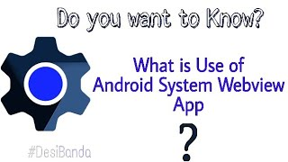 How to enable andriod system web view || enable problem
