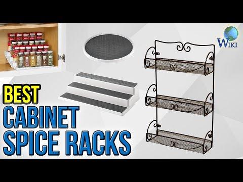 10 Best Cabinet Spice Racks 2017