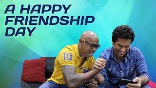 Sachin Tendulkar & Vinod Kambli celebrate Friendship Day
