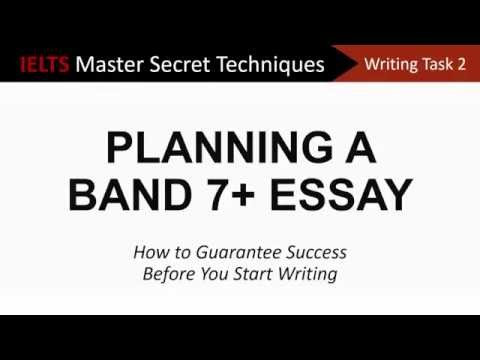 IELTS Writing Task 2: Planning a Band 7+ Essay