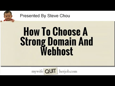 How To Choose The Right Domain And Webhost For Your Online Store