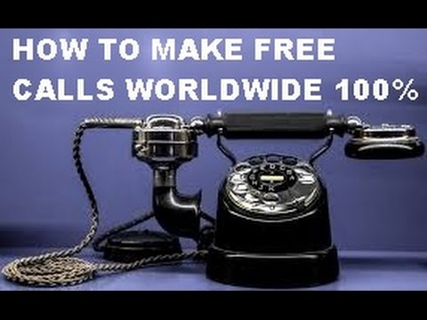 HOW TO MAKE FREE CALLS BY MOBILE OR PC ONLINE(100%FREE)?MAKE GLOBAL/WORLDWIDE UNLIMITED FREE CALLS