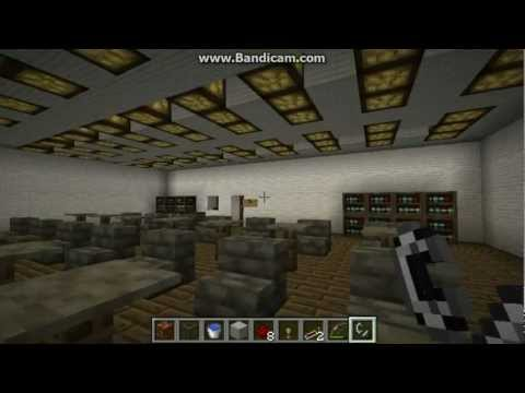Minecraft Redstone Inventions- The Fire Alarm