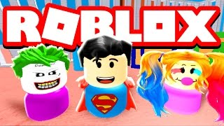 BEING A SUPER BABY IN ROBLOX