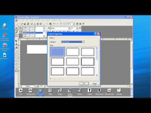 Stampcreator Pro: Using P-Touch Editor