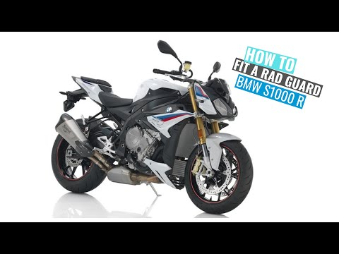 BMW S1000R Rad Guard Fitting Instructions