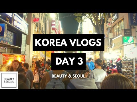 KOREA VLOGS DAY 3 | KBeauty Shopping in Myeongdong, Seoul