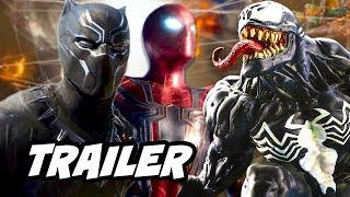 Black Panther Trailer Avengers Spider man Venom Breakdown